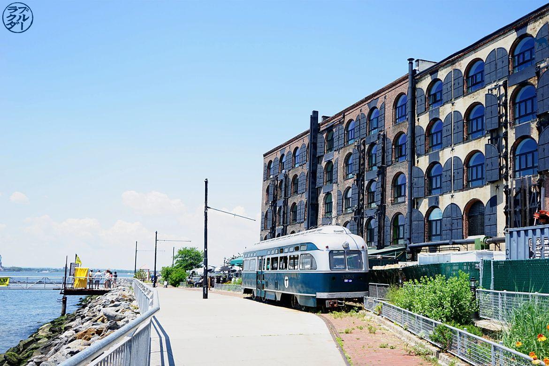 Le Chameau Bleu - Parc Pier 44 Waterfront Garden à Red Hook - Voyage à New York