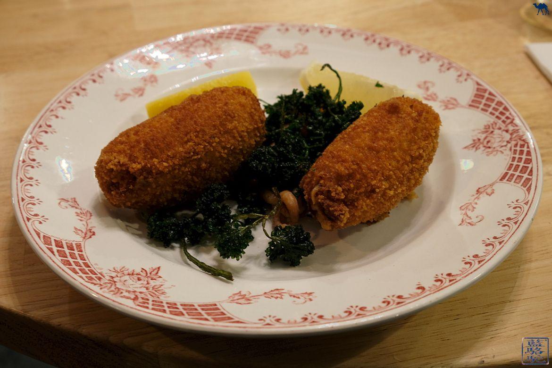 Le Chameau Bleu - Blog Voyage Restaurant Gand - Croquette spécialité flamande - Restaurant à Gand en Belgique