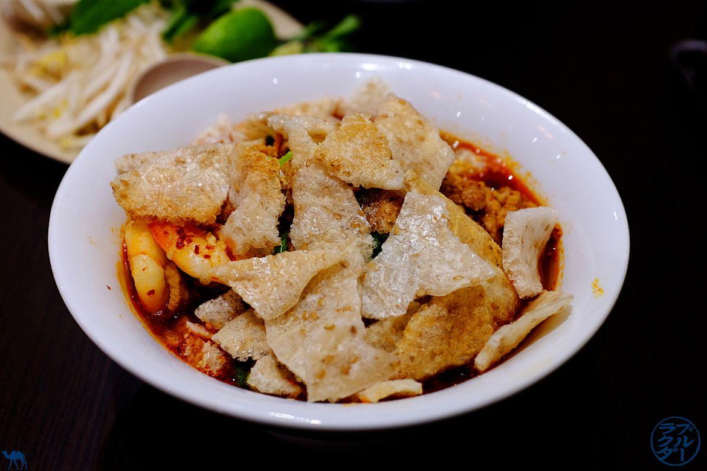 Le Chameau Bleu - Blog Gastronomie Song Huong Restaurant vietnamien à Paris - Soupe Mi Quang