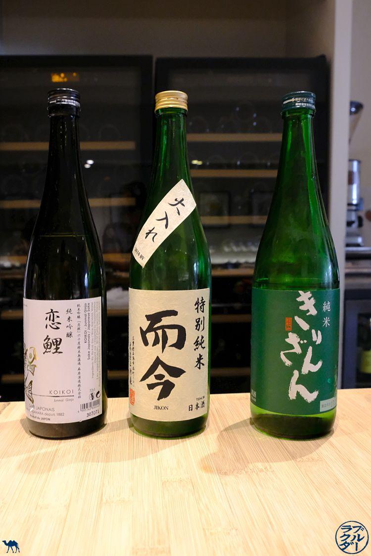 Le Chameau Bleu - Blog Gastronomie et Voyage - Sélection de saké chez Toyo à Paris Restaurant gastro chef japonais