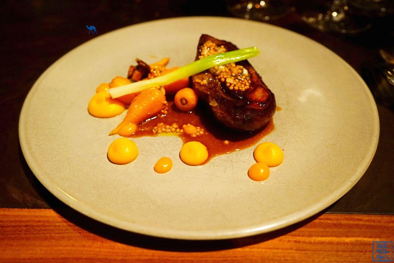 Le Chameau Bleu - Blog Voyage Restaurant Gand Belgique - Volta canard sauvage - carotte jeune et oignon