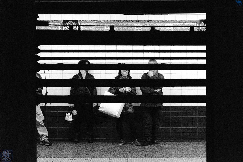 Blog NewYork Voyage - Metro dans Chinatown de New York Manhattan USA