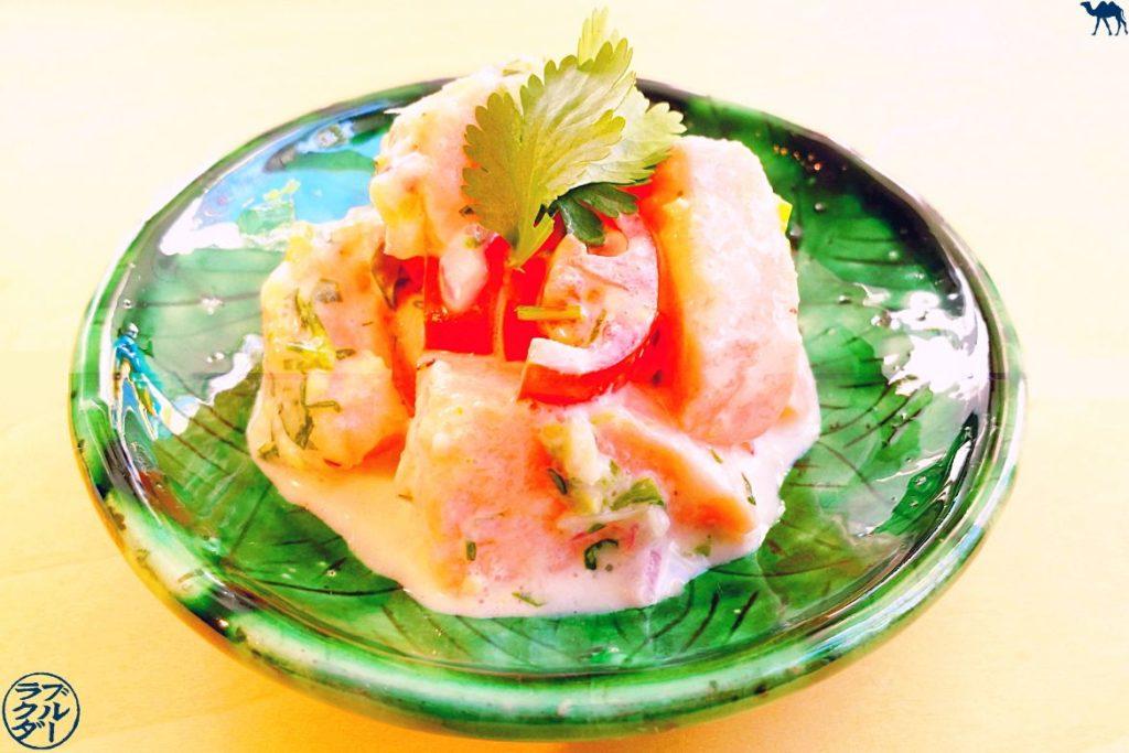 Le Chameau Bleu - Blog Cuisine et Voyage - Recette Tartare de Saumon à la tahitienne