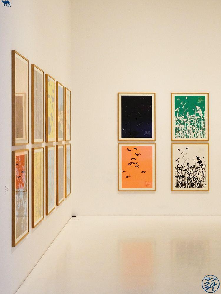 Le Chameau Bleu - Blog Voyage Japon - Salle du Aomori Museum of Art - Tohoku Voyage au Japon