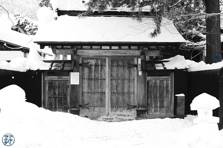 Le Chameau Bleu- Voyage au Japon dans le Tohoku - Demeure de samouraïs à Kakunodate
