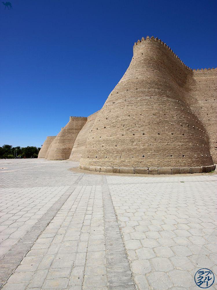 Visite de la forteresse d'Ark de Boukhara - vacances en Ouzbékistan - Asie Centrale - Le Chameau Bleu