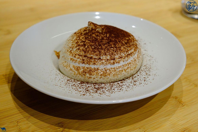 Bonne Adresse Paris - Espuma de banane glace caramel du Restaurant Gastronomique Toyo à Paris