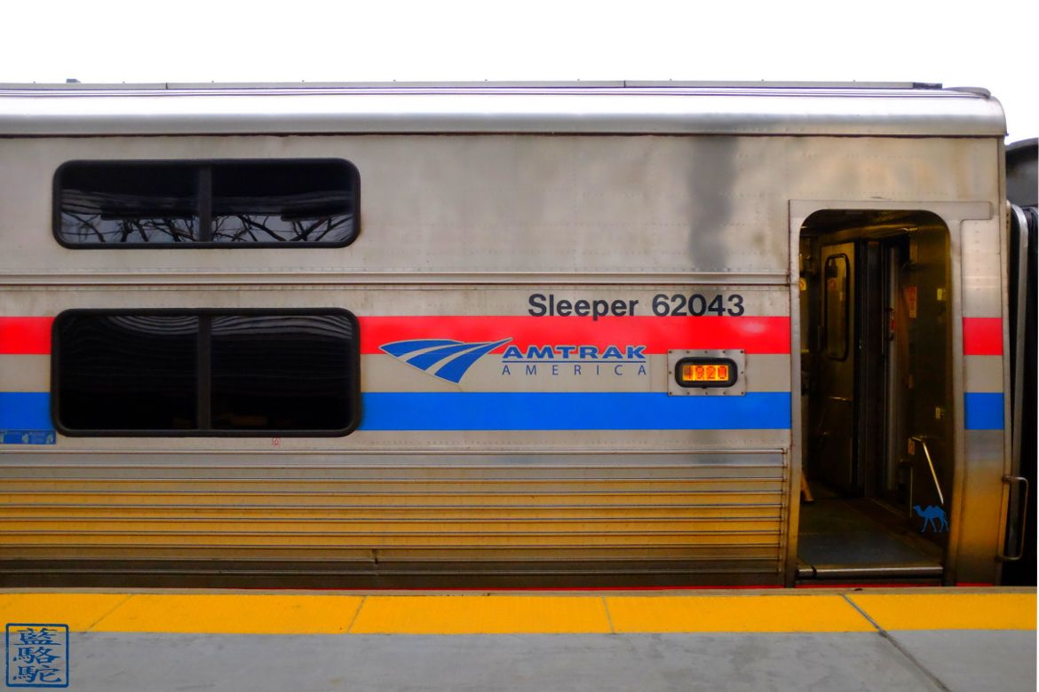 Le Chameau Bleu - Sleeper pour Chicago Train entre Chicago et New York Amtrak
