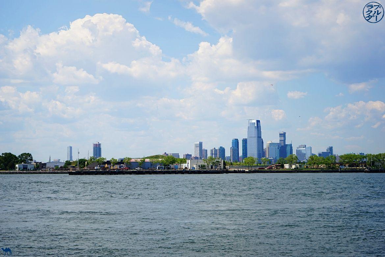 Le Chameau Bleu - Vue depuis le Parc Pier 44 Waterfront Garden à Red Hook - Voyage à New York