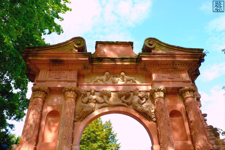 Le Chameau Bleu -Blog Voyage Heidelberg Allemagne - Arche du Chateau - Chateau D'Heidelberg en Allemagne