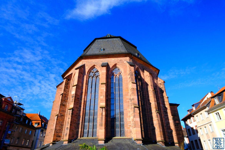 Le Chameau Bleu -Blog Voyage Heidelberg Allemagne - Eglise - Heidelberg - Tourisme en Allemagne