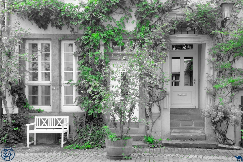 Le Chameau Bleu - Blog Voyage Heidelberg Allemagne - Facade AltStadt - Heidelberg