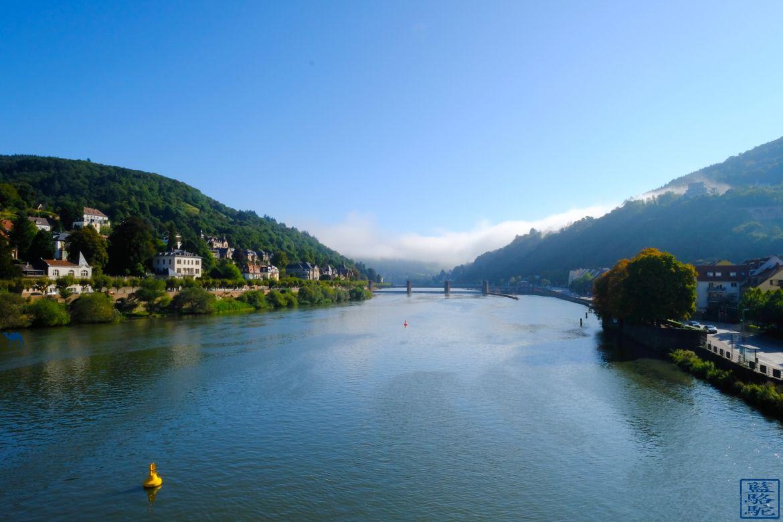 Le Chameau Bleu - Blog Voyage Heidelberg Allemagne - Le Neckar