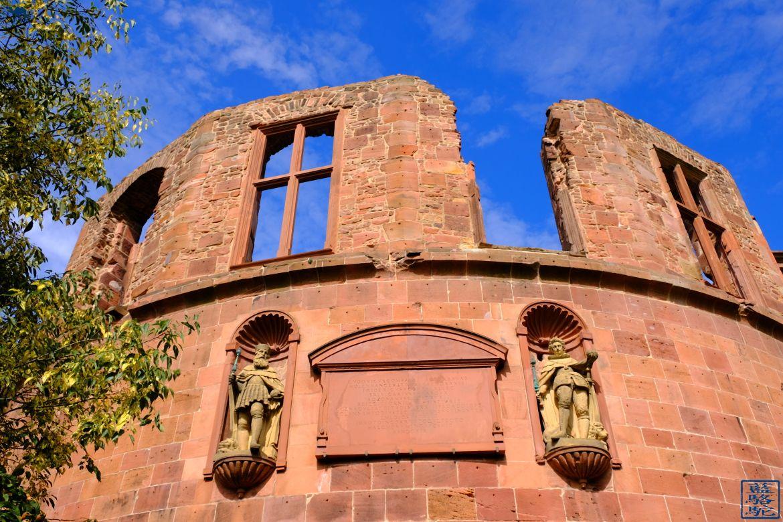 Le Chameau Bleu - Blog Voyage Heidelberg Allemagne - Chateau de la ville