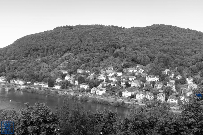 Le Chameau Bleu - Blog Voyage d'Heidelberg Allemagne - Vue d'ensemble d'Heidelberg - Allemagne