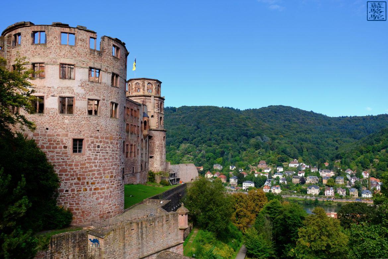 Le Chameau Bleu - Blog Voyage Heidelberg Allemagne - Chateau d'Heidelberg - Tour Voyage en Allemagne