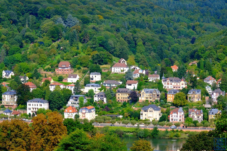 Le Chameau Bleu - Blog Voyage Heidelberg Allemagne - vue depuis le PHILOSOPHENWEG - Heidelberg - Allemagne