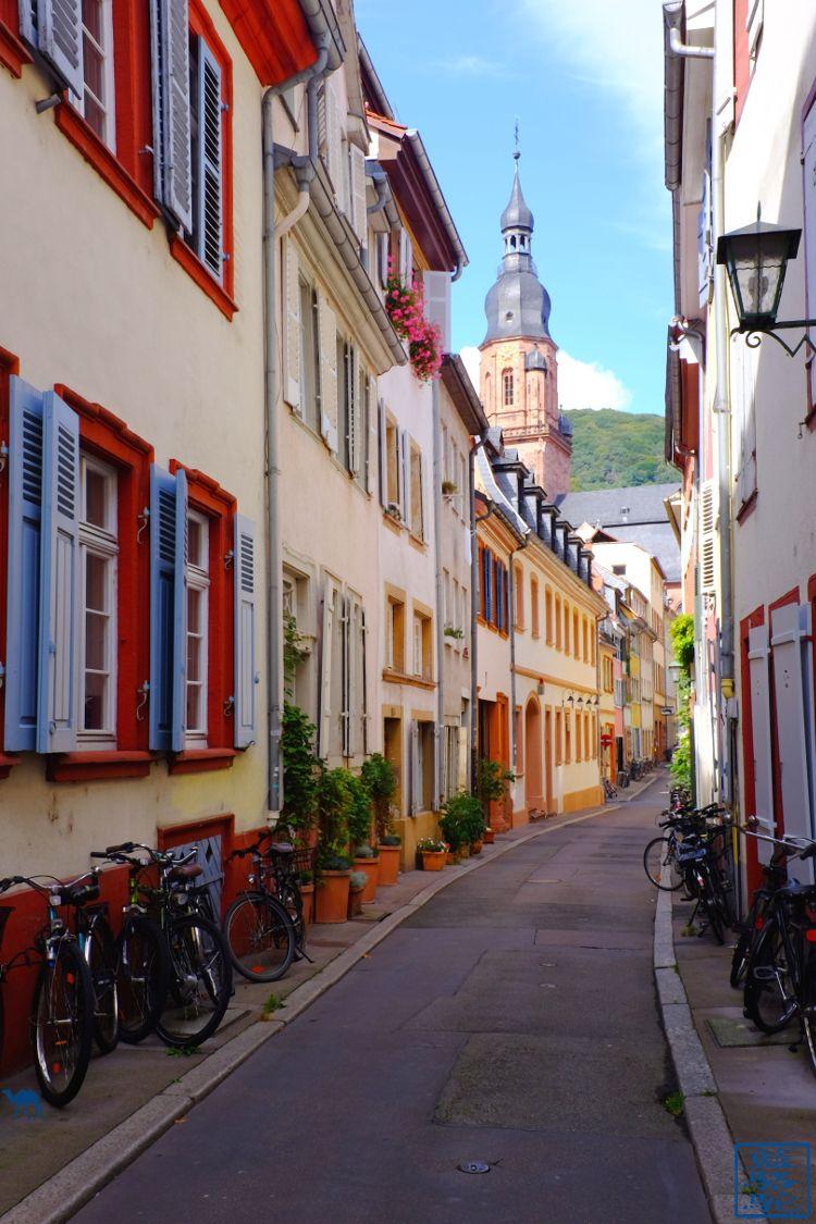 Le Chameau Bleu - Blog Voyage Heidelberg Allemagne - Rue - Heidelberg