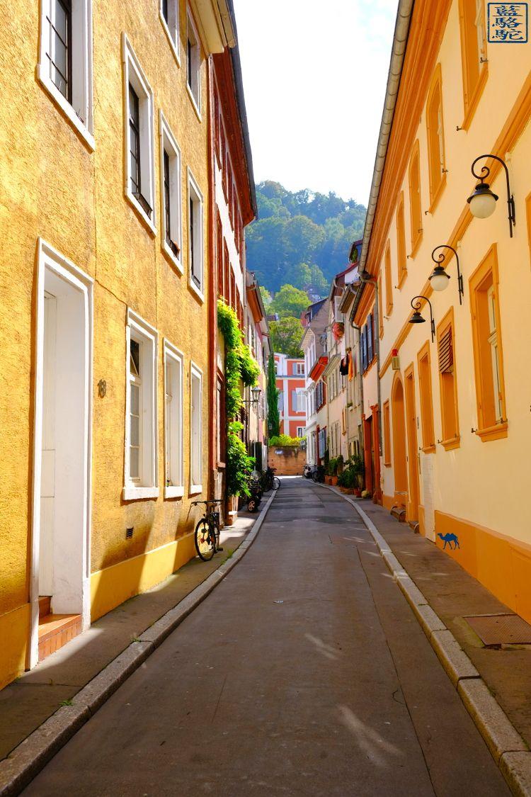Le Chameau Bleu - Blog Voyage Heidelberg Allemagne - Ruelles de Heidelberg - Escapade en Allemagne