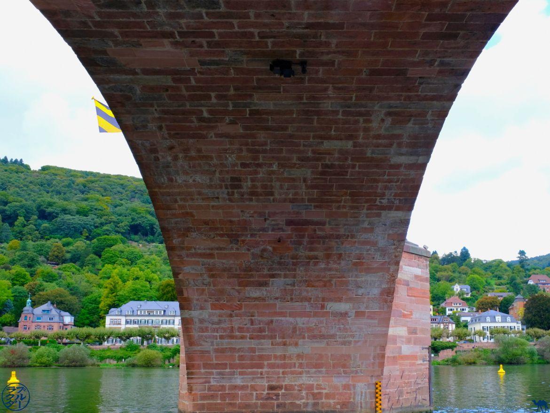 Le Chameau Bleu - Blog Voyage Heidelberg Allemagne - Sous le pont d'Heidelberg - Escapade en Allemagne
