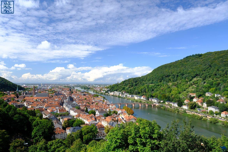 Le Chameau Bleu - Blog Voyage Heidelberg Allemagne - Vue sur Heidelberg - Allemagne
