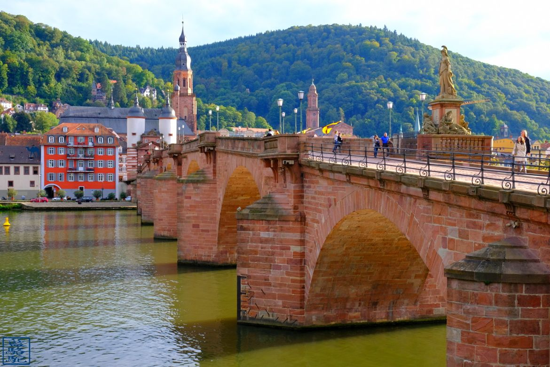 Le Chameau Bleu - Blog Voyage Heidelberg Allemagne - Alte Brücke - Heidelberg Voyage en Allemagne