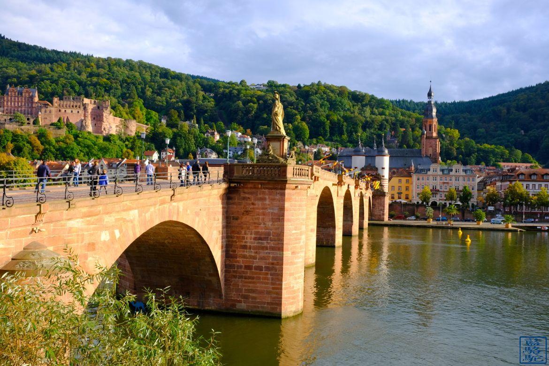 Le Chameau Bleu -Blog Voyage Heidelberg Allemagne - Le vieux pont d'Heidelberg