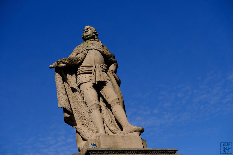Le Chameau Bleu - Blog Voyage Heidelberg Allemagne - Alte Brücke - Heidelberg- Statue- Escapade allemande