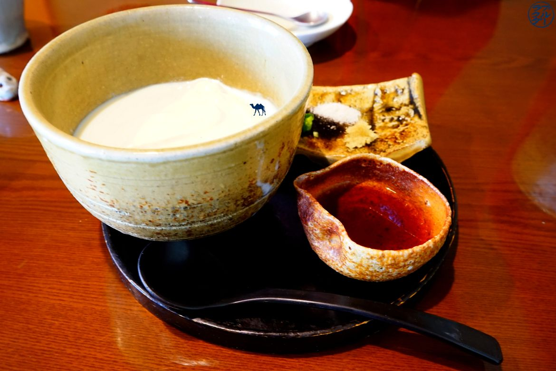Takayama Restaurant japonais Tofu de nonohana - Le Chameau Bleu Blog Voyage Japon