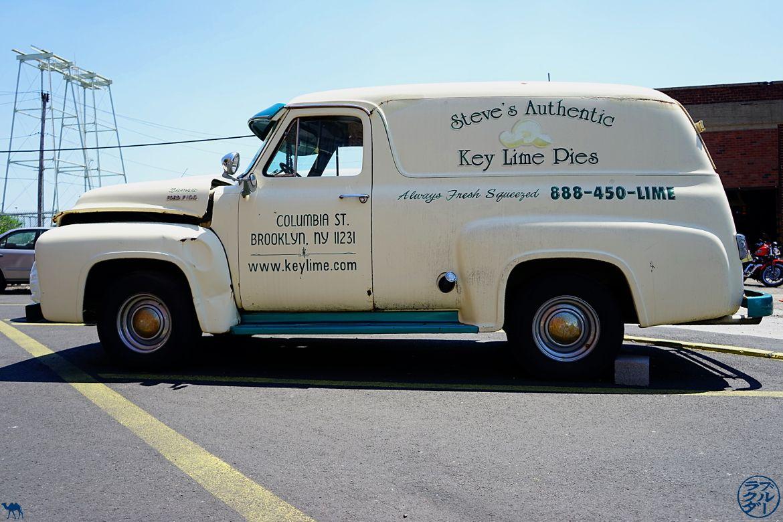 Le Chameau Bleu Blog Voyage NewYork - Camionnette de Chez Steve's Authentic Key Lime Pies - Red Hook New York