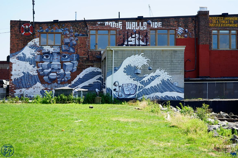 Le Chameau Bleu Blog Voyage USA - Coin de verdure à Red Hook - Balade dans Brooklyn New York