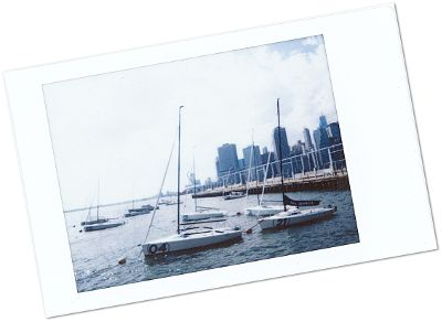 Blog Voyage New York City Polaroid de Brooklyn Heights - New York - Le Chameau Bleu Blog Voyage