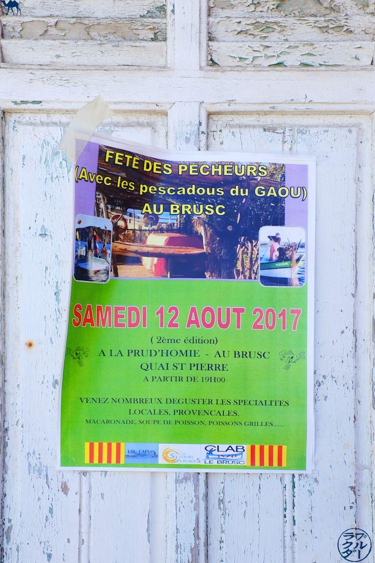 Le Chameau Bleu - Blog Voyage Var Brusc - Les Pescadou du Gaou