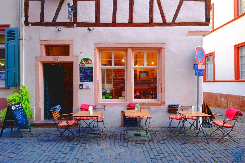 Le Chameau Bleu - Blog Voyage Heidelberg Allemagne - Café Schiller Heidelberg Altstadt Deutschland