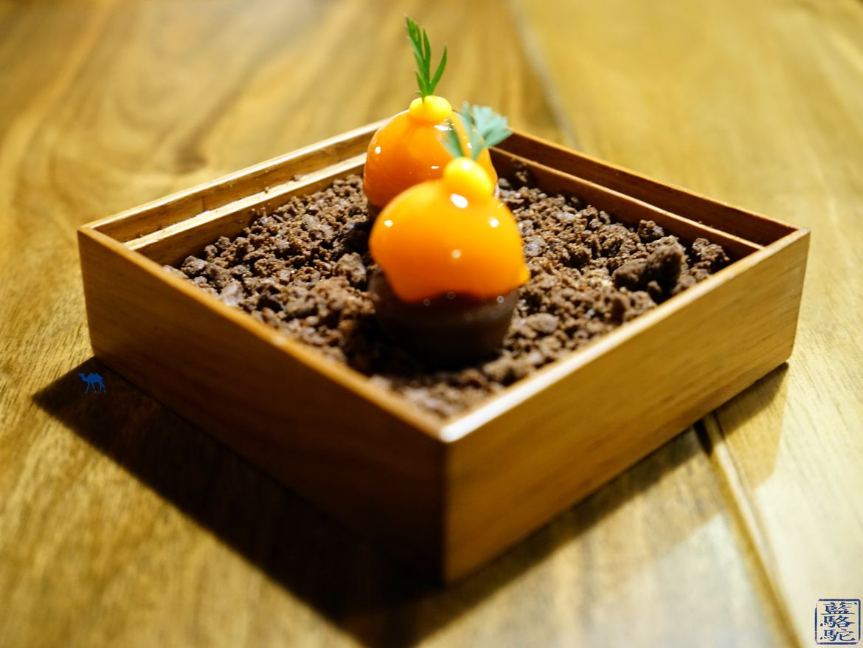Le Chameau Bleu Blog Gastronomie Et Voyage - Diner Gastronomique à val d'Isère à L'atelier d'Edmond - Amuse Bouche