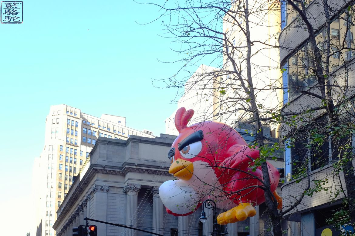 Le Chameau Bleu - Blog Voyage New York City - Angry birds Parade de Thanksgiving de New York Blog Voyage New York City