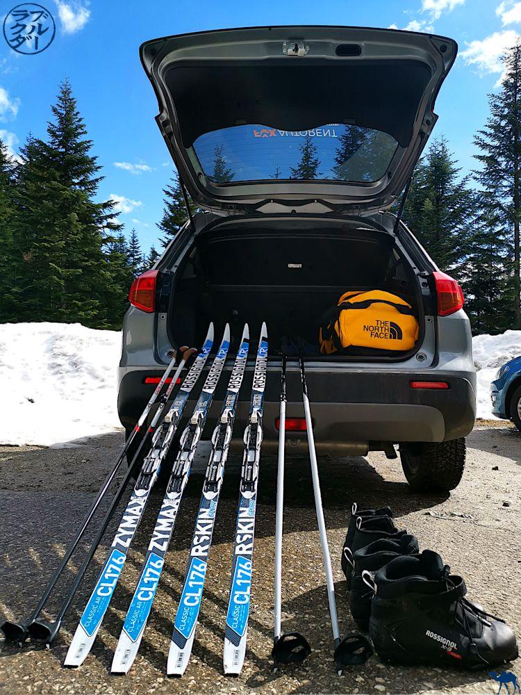 Le Chameau Bleu - Voyage en Autriche - Préparation au Ski de Fond dans le Dachstein