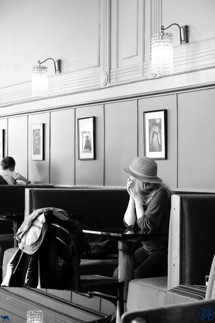 Le Chameau Bleu Blog Voyage Vienne - Client du café WestEnd