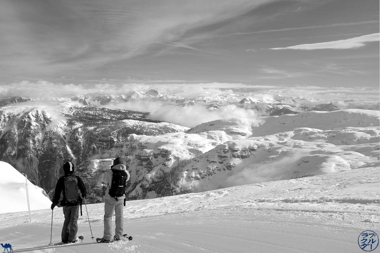 Le Chameau Bleu - Blog Voyage En Autriche - Balade en raquette dans le Dachstein Krippenstein