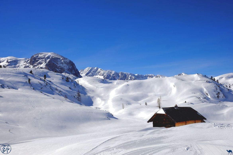 Le Chameau Bleu - Blog Voyage Autriche - Chalet du Dachstein Krippenstein