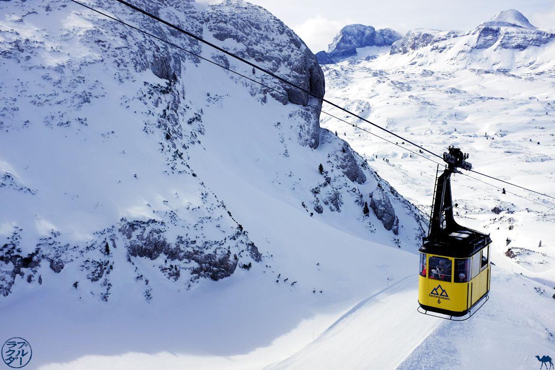 Le Chameau Bleu - Blog Voyage En Autriche - Téléphérique du Dachstein Krippenstein
