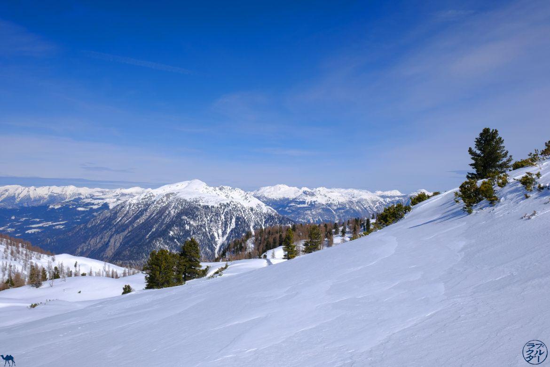 Le Chameau Bleu - Blog Voyage Autriche - Neige Immaculée du Dachstein Krippenstein