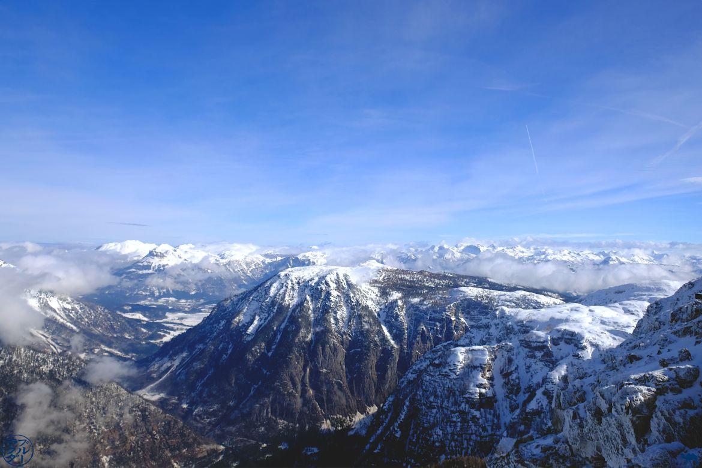 Le Chameau Bleu - Blog Voyage En Autriche - Panorama du Dachstein Krippenstein