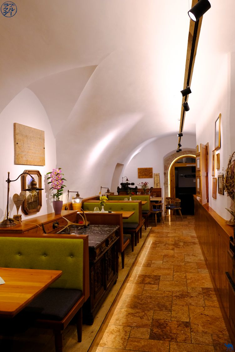 Le Chameau Bleu - Blog Voyage et Gastronomie - Adresse food au Dachstein Salzkammergut - Intérieur du restaurant SteegWirt