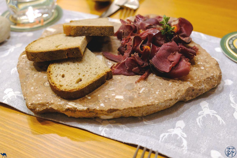 Le Chameau Bleu - Blog Voyage et Gastronomie - Adresse food au Dachstein Salzkammergut - SteegWirt - Viande séchée de Chamois