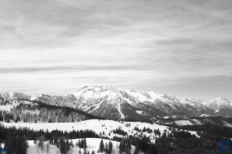 Le Chameau Bleu - Voyage En Autriche - Panoramique de Dachstein West