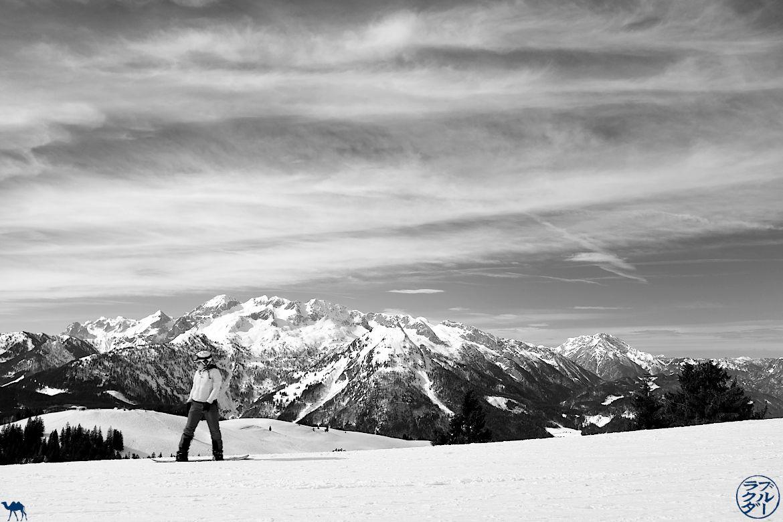 Le Chameau Bleu - Blog Voyage Autriche - Haute-Autriche - Snowboard dans le Dachstein West