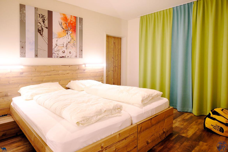 Le Chameau Bleu - Blog Voyage et Gastronomie - Voyage en Autriche - Chambre Hotel Coee à Gosau