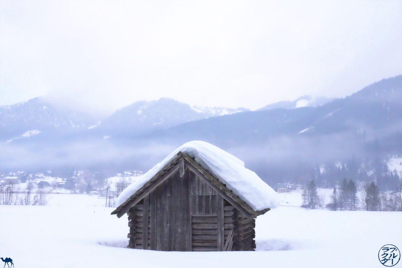 Le Chameau Bleu -Blog Voyage Autriche - Neige dans le Dachstein à Gosau