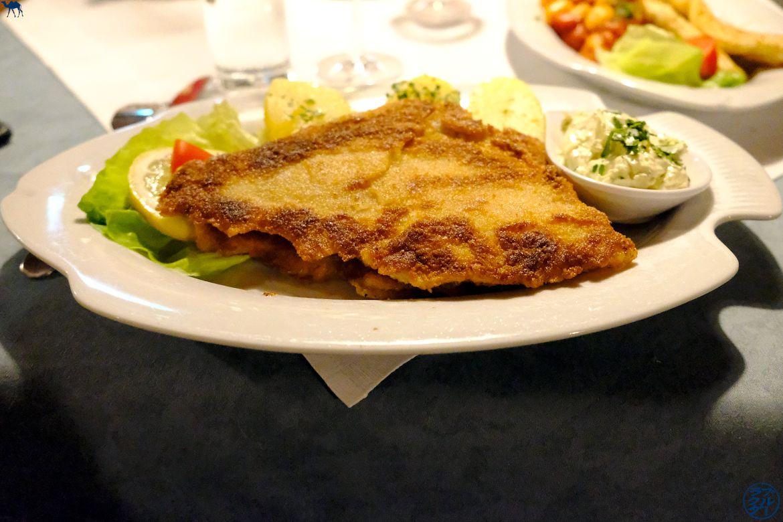 Le Chameau Bleu - Blog Voyage Autriche - Restaurant Gosau KirchenWirt - Schnitzel